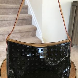 Arcadia Genuine Patent Leather Bag